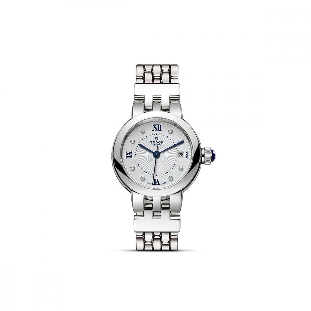 TUDOR Clair De Rose Diamond Dot 26mm Watch 35200