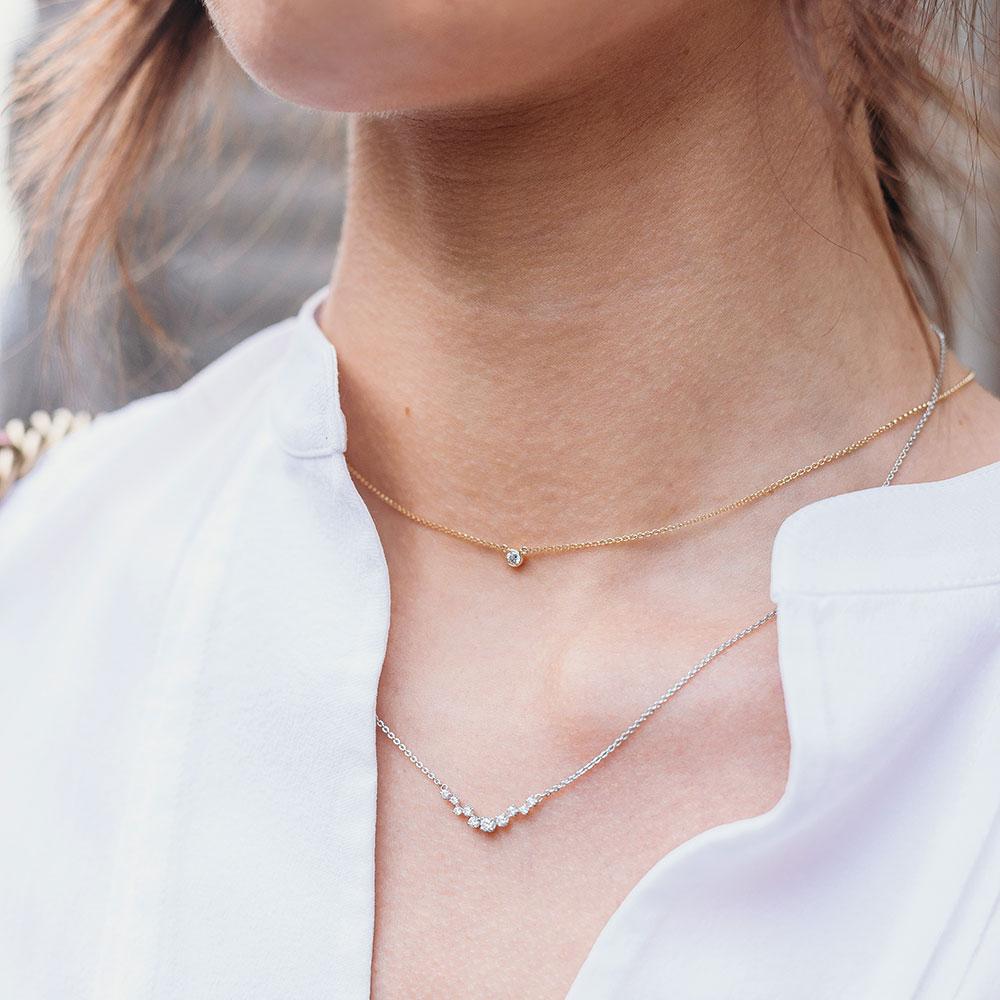 ROX Diamond Necklace 0.27cts