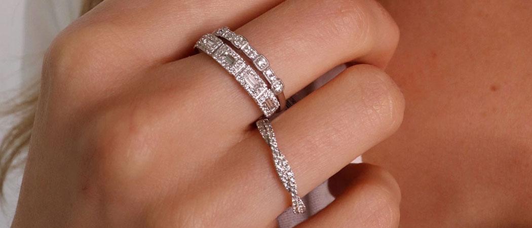 White Gold Jewellery - Image